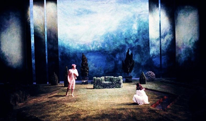 "Set and prop design ""The Triumph of Love"" 1993"