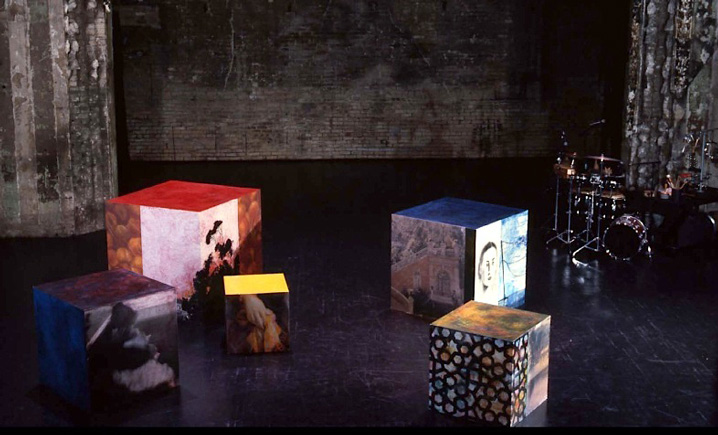 "Set design for ""Leap in the Dark"" 1996"