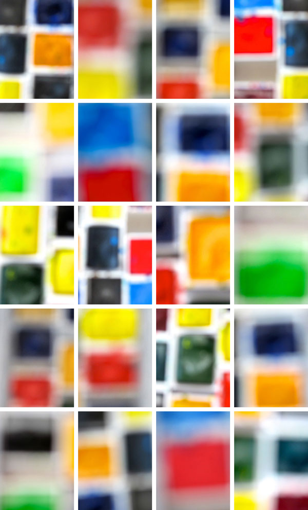 """Watercolors Mix"" 2014 (archival pigment print, 52 x 34"")"