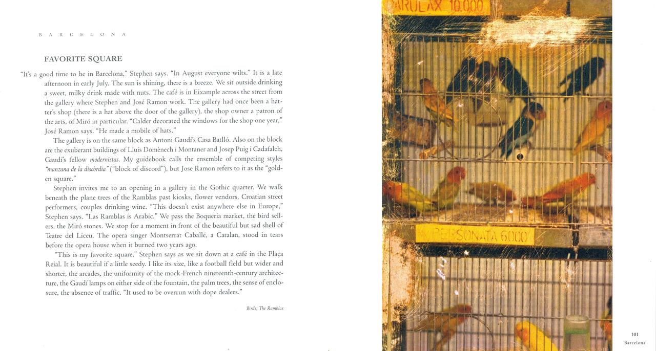 <em>The Nostalgic Heart,</em> Barcelona pages 100-101