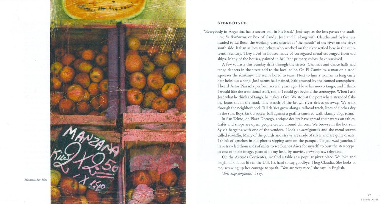 <em>The Nostalgic Heart,</em> Buenos Aires pages 76-77