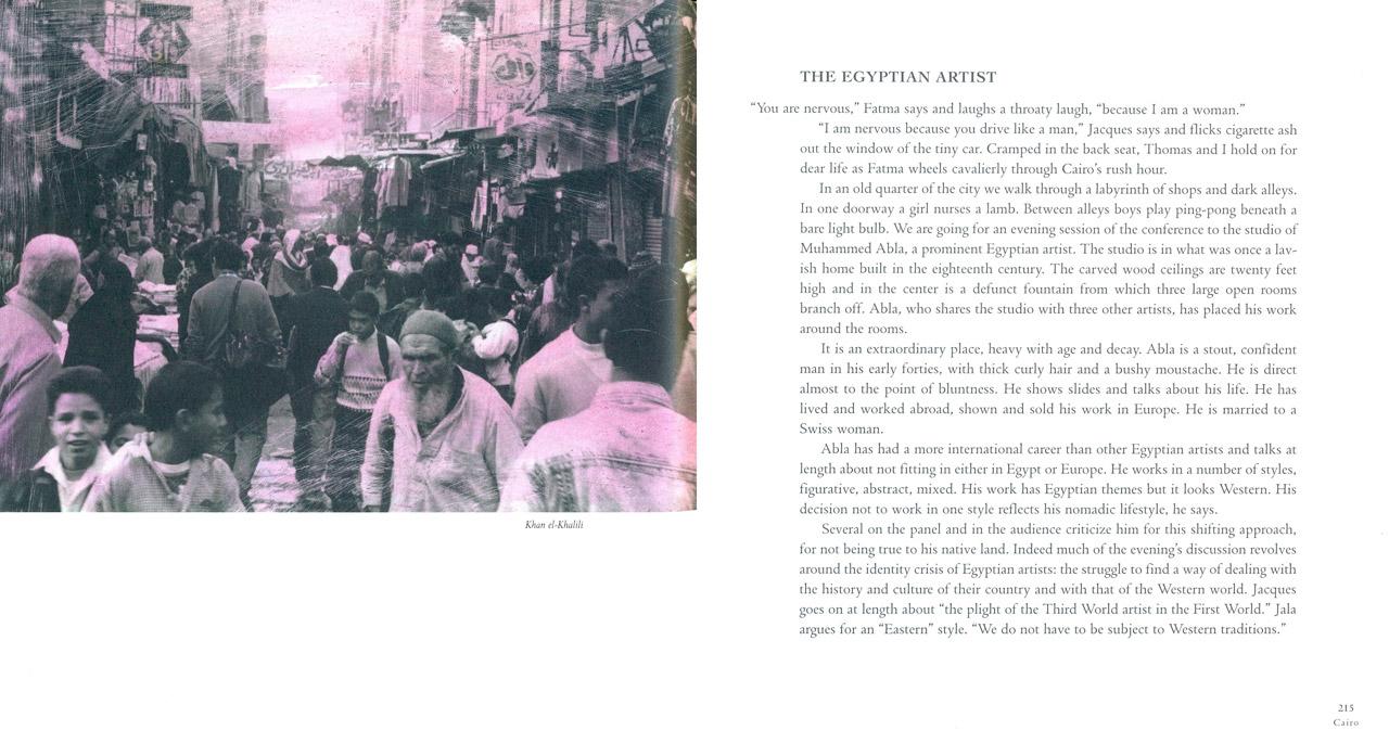 <em>The Nostalgic Heart,</em> Cairo pages 214-215