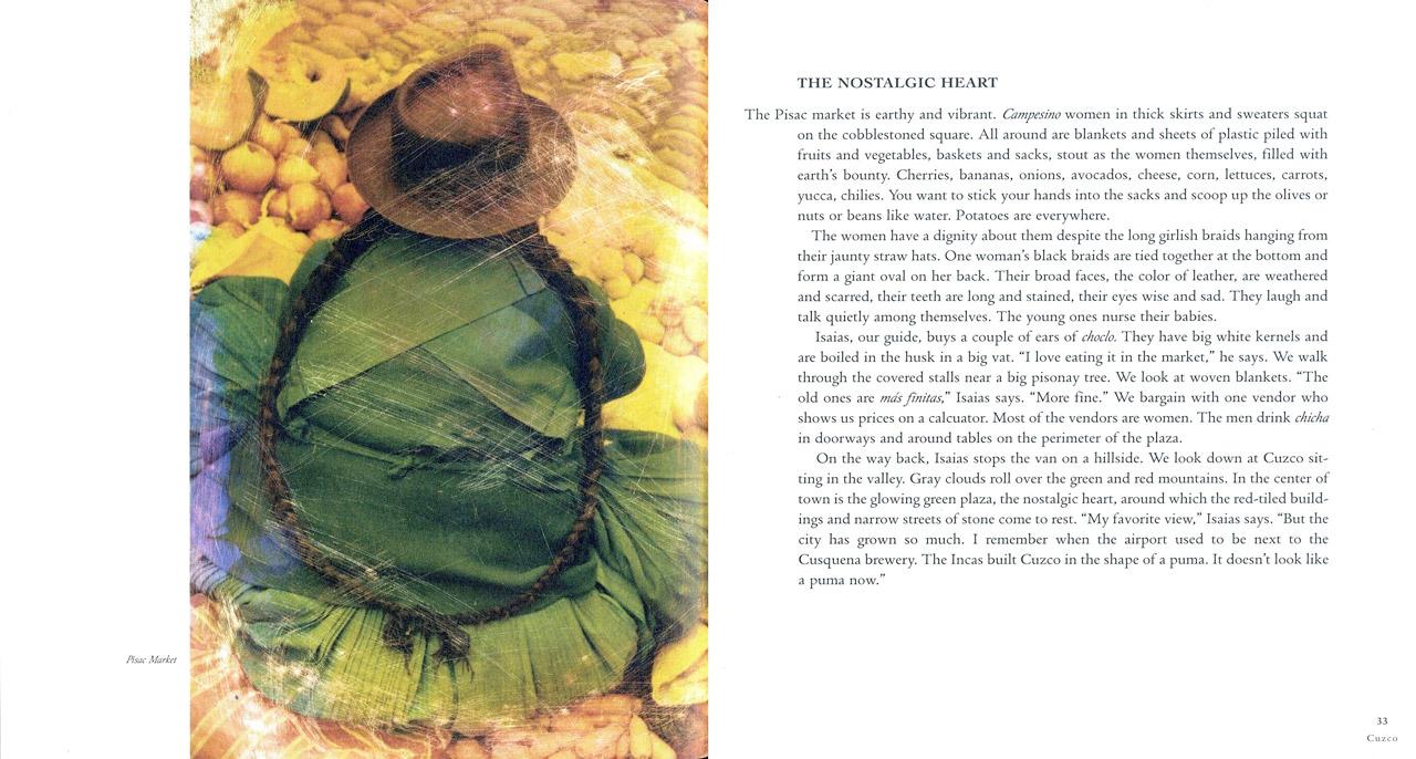 <em>The Nostalgic Heart,</em> Cuzco pages 32-33