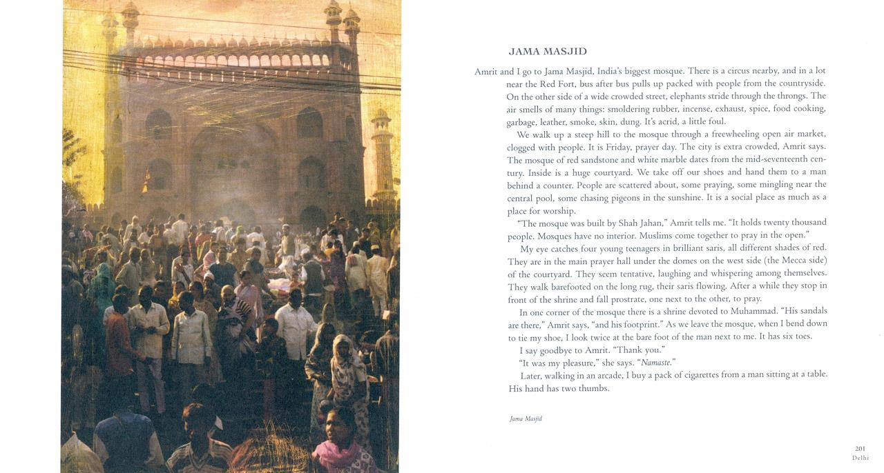 <em>The Nostalgic Heart,</em> Delhi pages 200-201