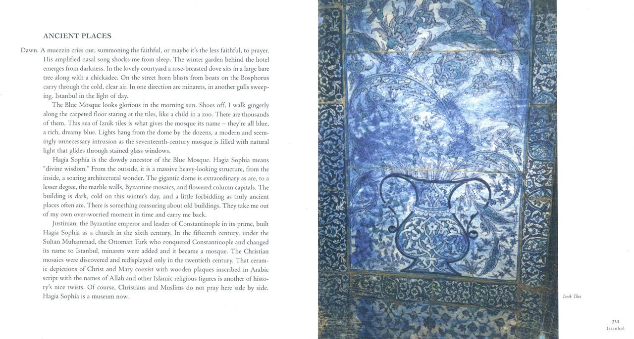 <em>The Nostalgic Heart,</em> Istanbul pages 234-235