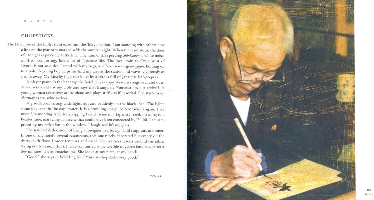 <em>The Nostalgic Heart,</em> Kyoto pages 182-183