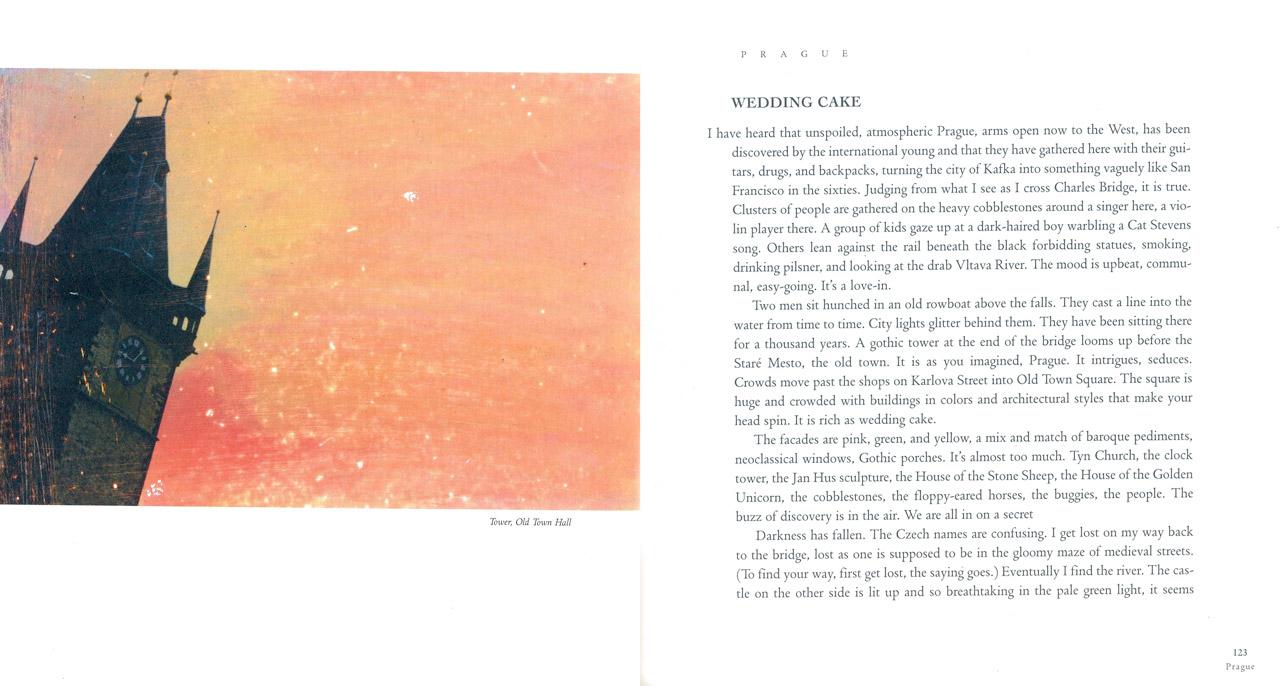 <em>The Nostalgic Heart,</em> Prague pages 122-123