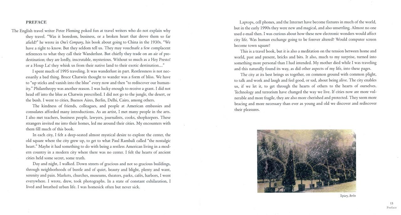 <em>The Nostalgic Heart,</em> Preface pages 12-13